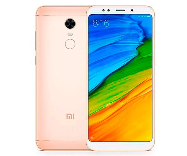XIAOMI REDMI 5 DORADO MÓVIL 4G DUAL SIM 5.7'' IPS HD/8CORE/32GB/3GB RAM/12MP/5MP