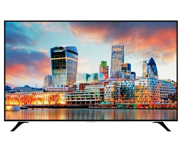 HITACHI 75HL17W64 TELEVISOR 75'' LCD LED UHD 4K HDR 2000Hz SMART TV WIFI BLUETOOTH LAN HDMI USB REPRODUCTOR MULTIMEDIA