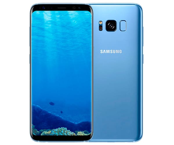 SAMSUNG GALAXY S8+ AZUL CORAL MÓVIL 4G 6.2'' SAMOLED QHD+/8CORE/64GB/4GB RAM/12MP/8MP