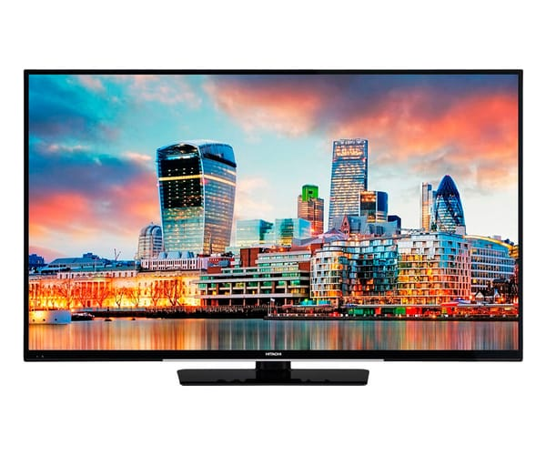 HITACHI 55HK4W64 TELEVISOR 55'' LCD DIRECT LED UHD 4K 1200Hz SMART TV WIFI BLUETOOTH LAN HDMI USB REPRODUCTOR MULTIMEDIA