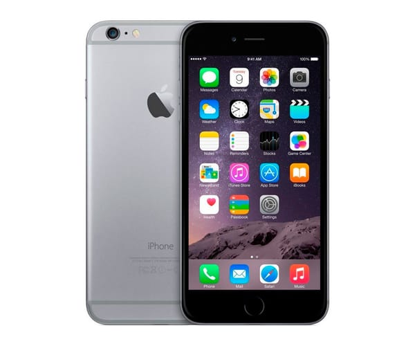 APPLE IPHONE 6 64GB GRIS ESPACIAL REACONDICIONADO CPO MÓVIL 4G 4.7'' RETINA HD/2CORE/64GB/1GB RAM/8MP/1.2MP