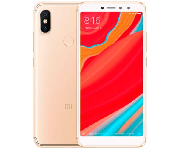 XIAOMI REDMI S2 DORADO MÓVIL 4G DUAL SIM 5.99'' IPS HD+/8CORE/32GB/3GB RAM/12MP+5MP/16MP