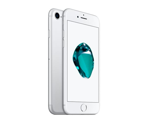 APPLE IPHONE 7 256GB PLATA REACONDICIONADO CPO MÓVIL 4G 4.7'' RETINA HD/4CORE/256GB/2GB RAM/12MP/7MP