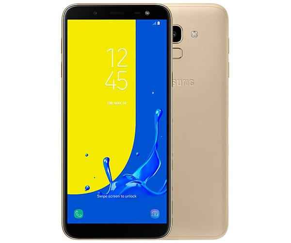 SAMSUNG GALAXY J6 (2018) DORADO MÓVIL 4G DUAL SIM 5.6'' SAMOLED HD+/8CORE/32GB/3GB RAM/13MP/8MP