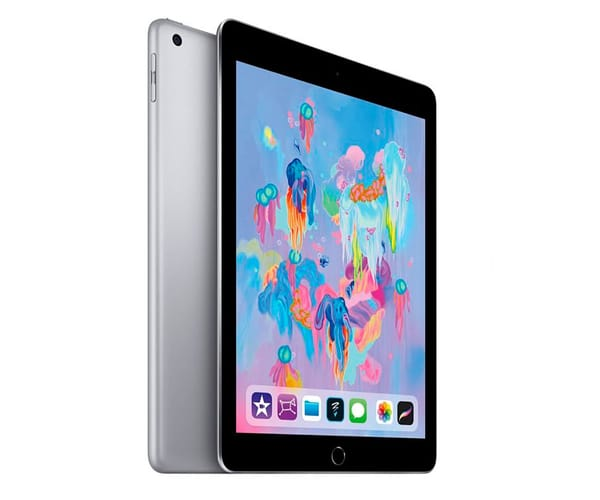 APPLE IPAD (2018) 32GB WIFI GRIS ESPACIAL TABLET WIFI 9.7'' RETINA/32GB/2GB RAM/8MP/1.2MP