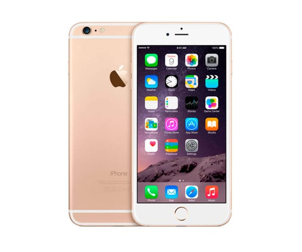 APPLE IPHONE 6 128GB ORO REACONDICIONADO CPO MÓVIL 4G 4.7'' RETINA HD/2CORE/128GB/1GB RAM/8MP/1.2MP