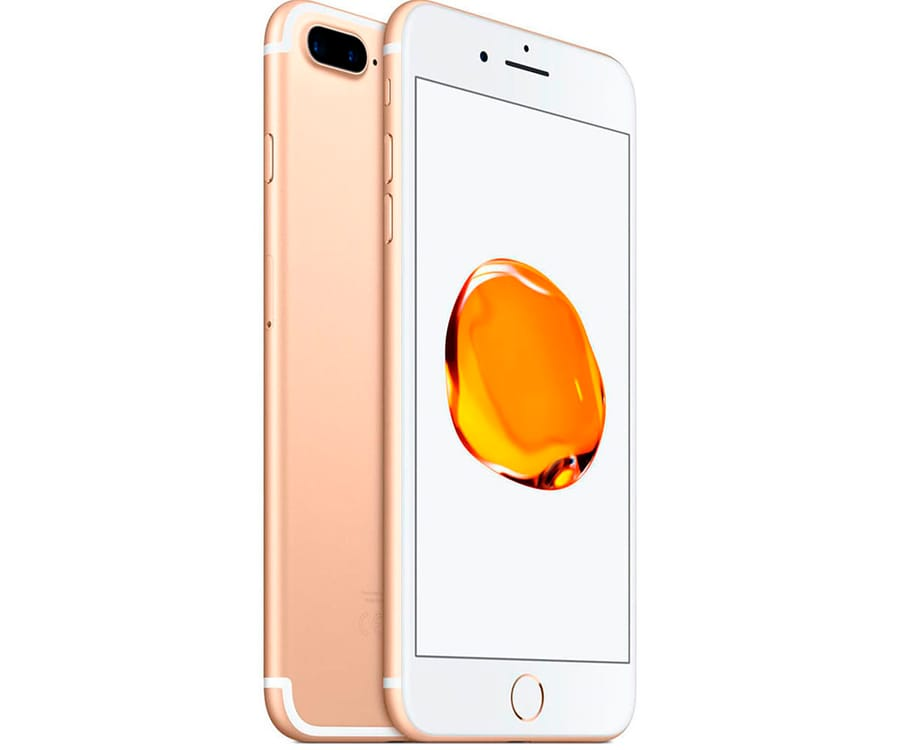 APPLE IPHONE 7 PLUS 128GB DORADO REACONDICIONADO CPO MÓVIL 4G 5.5'' RETINA FHD/4CORE/128GB/3GB RAM/12MP+12MP/7MP
