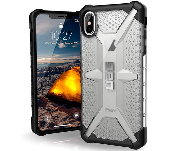 URBAN ARMOR GEAR CARCASA TRANSPARENTE RESISTENTE APPLE IPHONE XS MAX