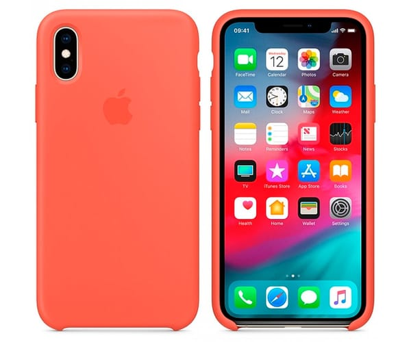 APPLE MTFF2ZM/A NECTARINA CARCASA DE SILICONA APPLE IPHONE XS MAX