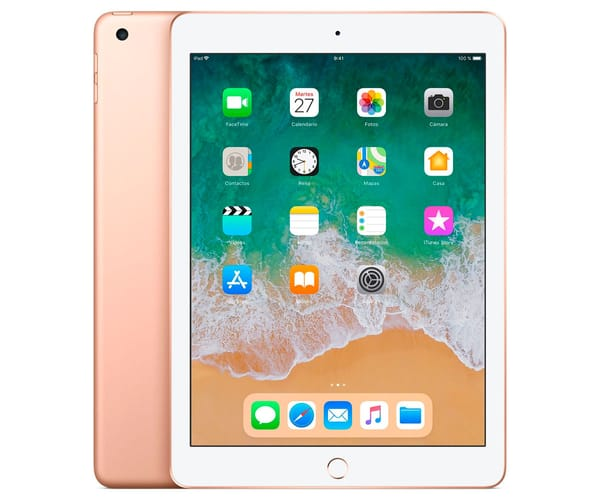APPLE IPAD (2018) 128GB WIFI ORO TABLET WIFI 9.7'' RETINA/128GB/2GB RAM/8MP/1.2MP