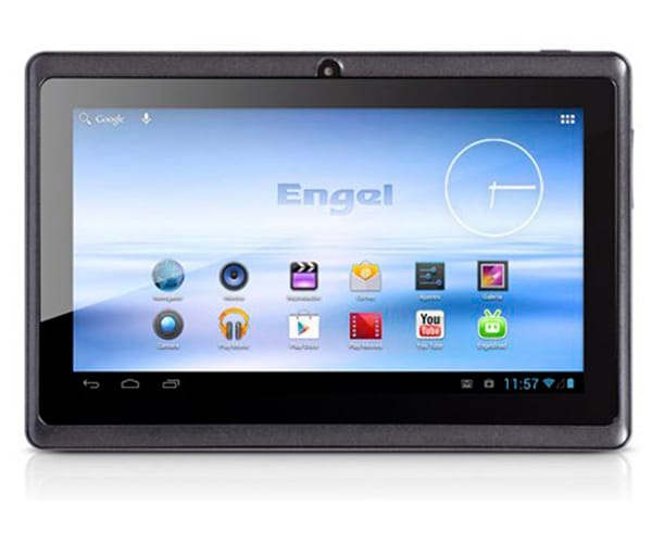 ENGEL TB0701 NEGRO TABLET WIFI 7'' TFT/1CORE/4GB/512MB RAM/0.3MP Z REAC.