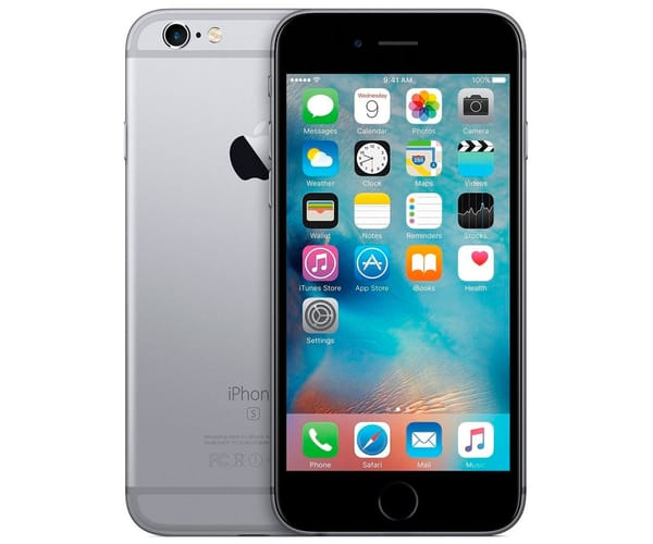 APPLE IPHONE 6S 16GB GRIS ESPACIAL REACONDICIONADO CPO MÓVIL 4G 4.7'' RETINA HD/2CORE/16GB/2GB RAM/12MP/5MP