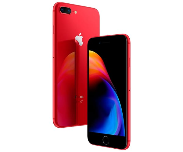 APPLE IPHONE 8 PLUS 64GB ROJO REACONDICIONADO CPO MÓVIL 4G 5.5'' RETINA FHD/6CORE/64GB/3GB RAM/12MP+12MP/7MP