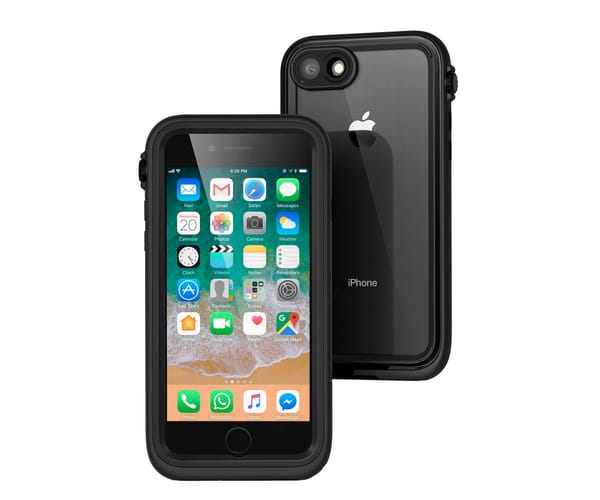 CATALYST FUNDA WATERPROOF NEGRA APPLE IPHONE 7 / 8 IMPERMEABLE RESISTENTE AL AGUA