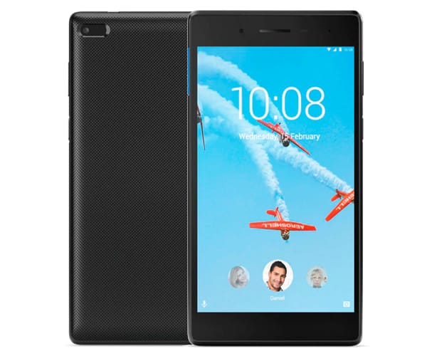 LENOVO TAB7 ESSENTIAL NEGRO TABLET WIFI 7'' IPS HD/4CORE/16GB/1GB RAM/2MP/0.3MP