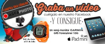 GRABA UN VIDEO Y GANA UN iPAD MINI O UN GARMIN FORERUNNER