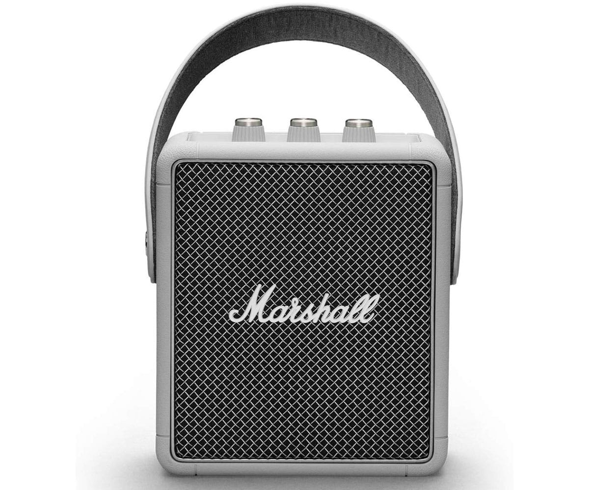 MARSHALL STOCKWELL II GRIS ALTAVOZ PORTÁTIL BLUETOOTH 20W DE DISEÑO COMPACTO VINTAGE - STOCKWELL II GREY