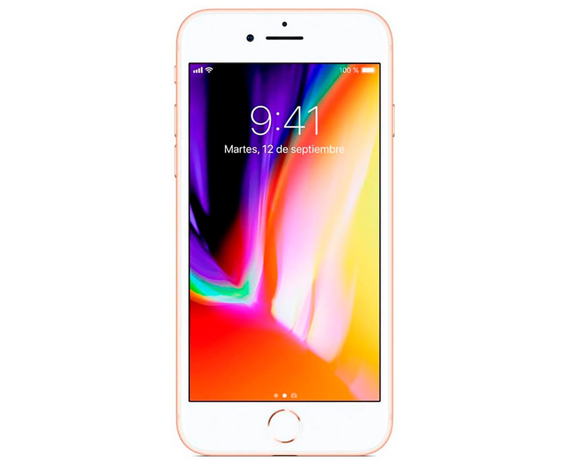 426aaf0a1de ... APPLE IPHONE 8 64GB ORO REACONDICIONADO CPO MÓVIL 4G 4.7'' RETINA  HD/6CORE ...