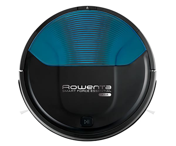 ROWENTA SMART FORCE ESSENTIAL AQUA ROBOT ASPIRADOR CON MOPA IDEAL PARA SUELOS DUROS