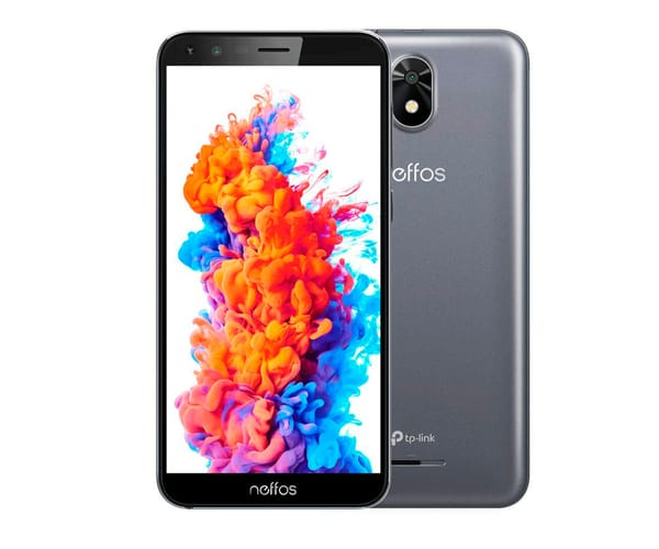 TP-LINK NEFFOS C5 PLUS 8GB GRIS MÓVIL 3G DUAL SIM 5.34'' FWVGA+/4CORE/8GB/1GB RAM/5MP/2MP