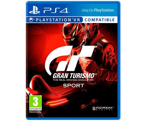 SONY JUEGO PS4 GRAN TURISMO SPORT CON BLURAY DE REGALO
