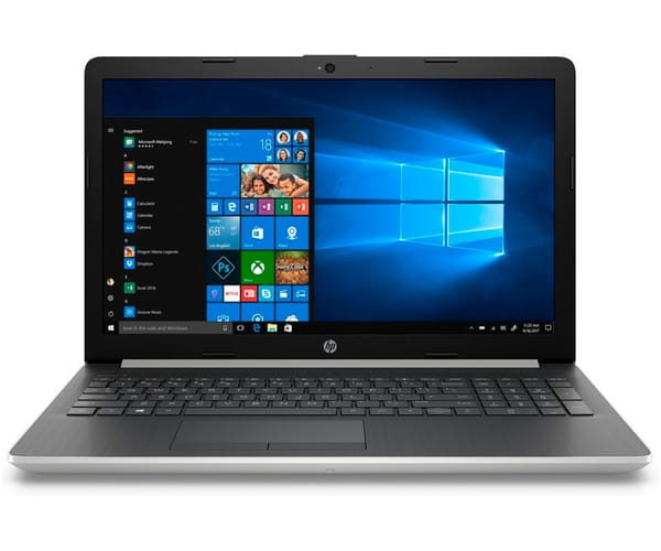 HP 15-DB0023 PORTÁTIL PLATA 15.6'' LCD WLED HD READY/A9-9425/1TB/8GB RAM/R520/W10 HOME