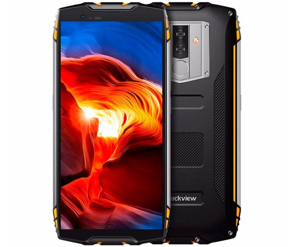 BLACKVIEW BV6800 PRO AMARILLO MÓVIL RESISTENTE DUAL SIM 4G 5.7'' IPS FHD/8CORE/64GB/4GB RAM/16MP/8MP