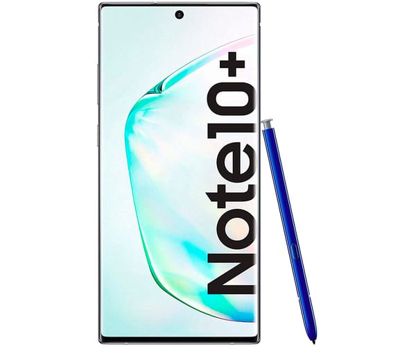 SAMSUNG GALAXY NOTE 10+ AURA GLOW MÓVIL SIM 4G 6.8'' DYNAMIC AMOLED QHD+/8CORE/256GB/12GB RAM/VP+16+12+12MP/10MP