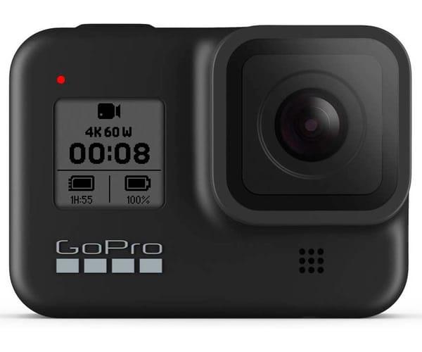 GO PRO HERO8 NEGRO CÁMARA DEPORTIVA 12MP UHD 4K60 1080p240 TÁCTIL SUPERFOTO HDR CONTROL POR VOZ