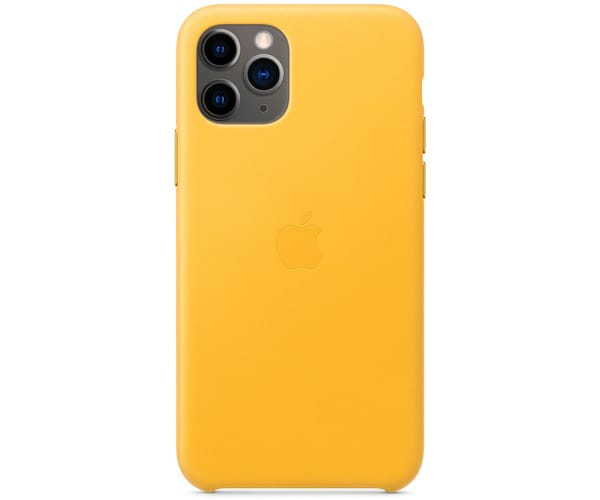 APPLE MWYA2ZM/A LIMON CARCASA LEATHER CASE IPHONE 11 PRO