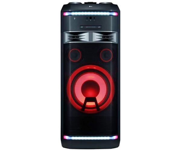 LG XBOOM OK99DAB SISTEMA DE AUDIO DE ALTO VOLTAJE 1800W BLUETOOTH PARTY LINK USB FUNCIONES DJ Y KARAOKE STAR