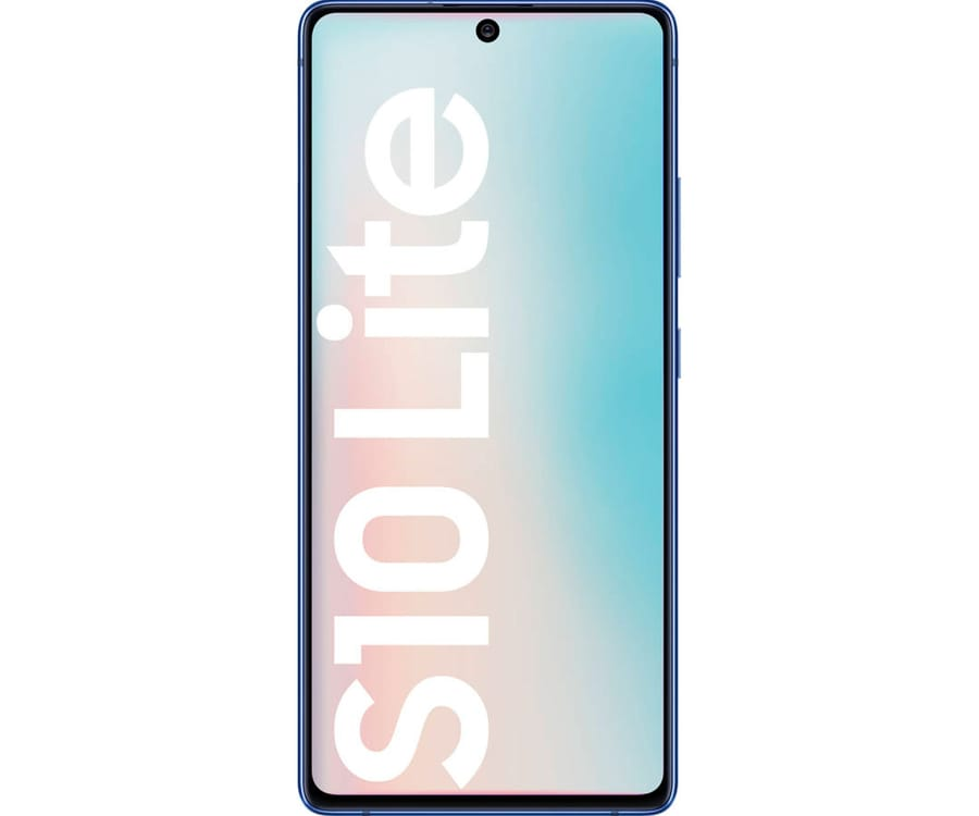 SAMSUNG GALAXY S10 LITE AZUL MÓVIL 4G DUAL SIM 6.7'' SUPER AMOLED FHD+ OCTACORE 128GB 8GB RAM TRICAM 48MP SELFIES 32MP