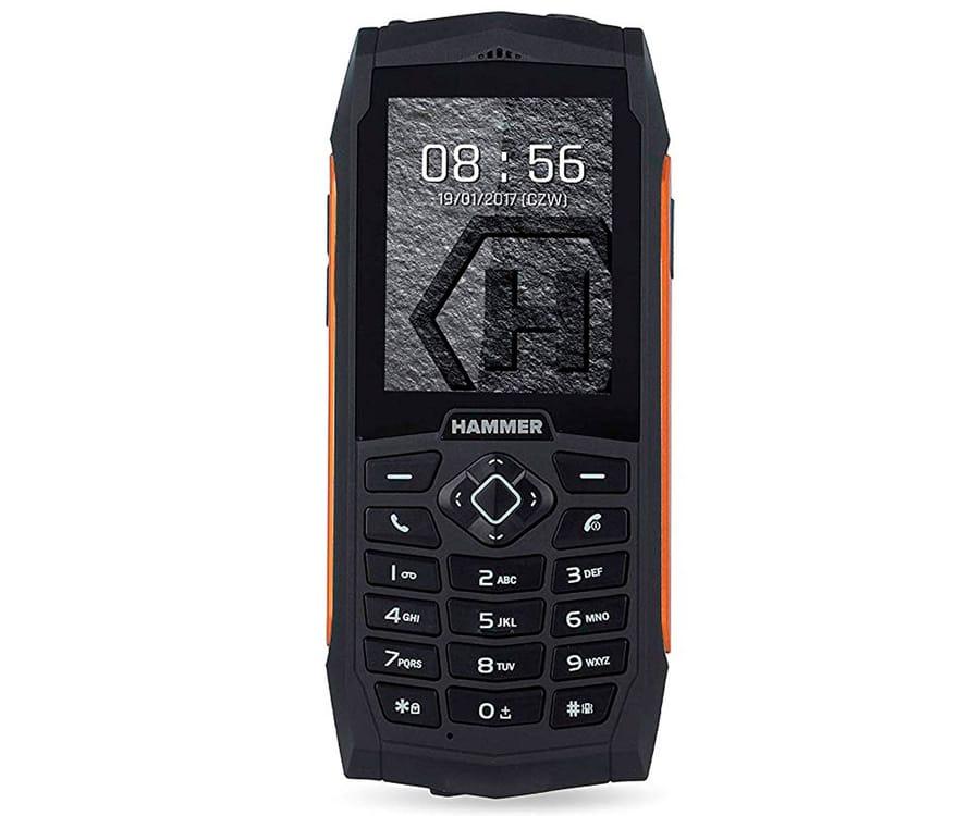 MYPHONE HAMMER 3+ NARANJA MÓVIL 3G RESISTENTE IP68 DUAL SIM 2.4'' TFT CÁMARA 2MP BLUETOOTH