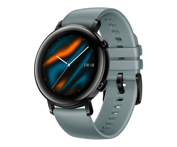 HUAWEI WATCH GT 2 CLASSIC EDITION AZUL CYAN 42MM SMARTWATCH TÁCTIL AMOLED 1.39'' GPS 5ATM