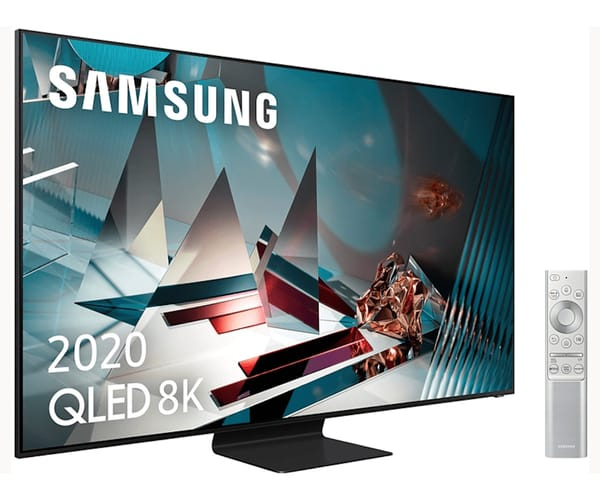 SAMSUNG QE75Q800T 2020 TELEVISOR 75'' QLED 8K QUANTUM HDR 2000 SMART TV 4500Hz PQI
