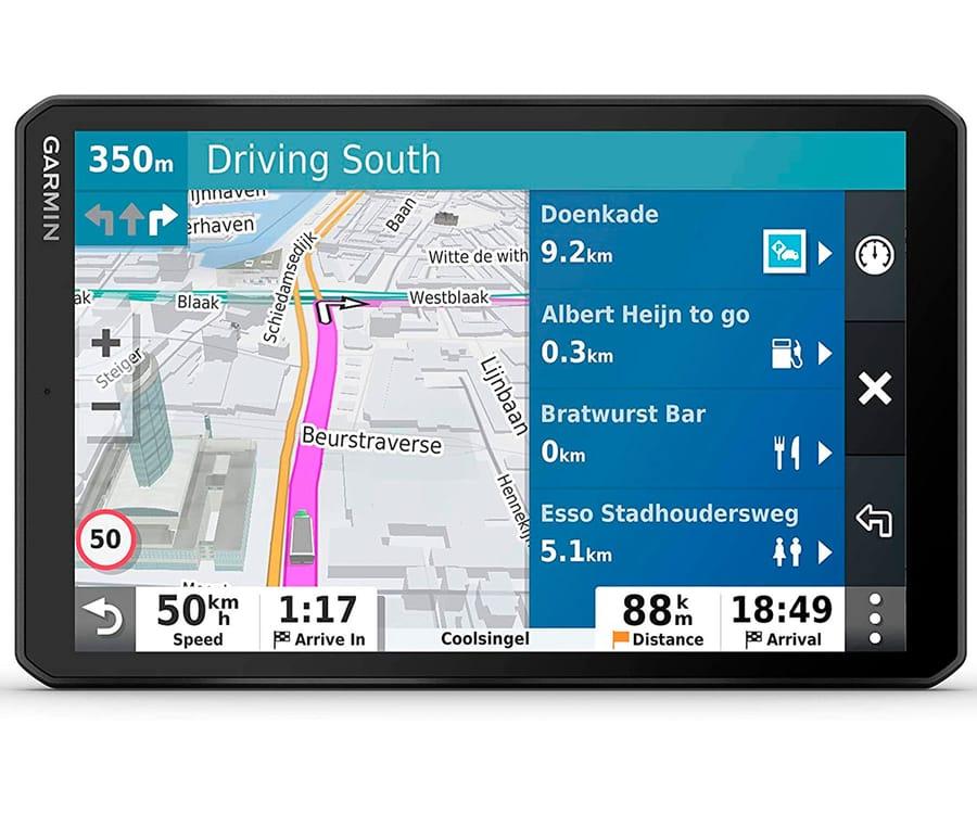 GARMIN DEZL LGV800 NAVEGADOR PARA CAMIÓN 8'' GPS CON MAPAS PREINSTALADOS DE EUROPA