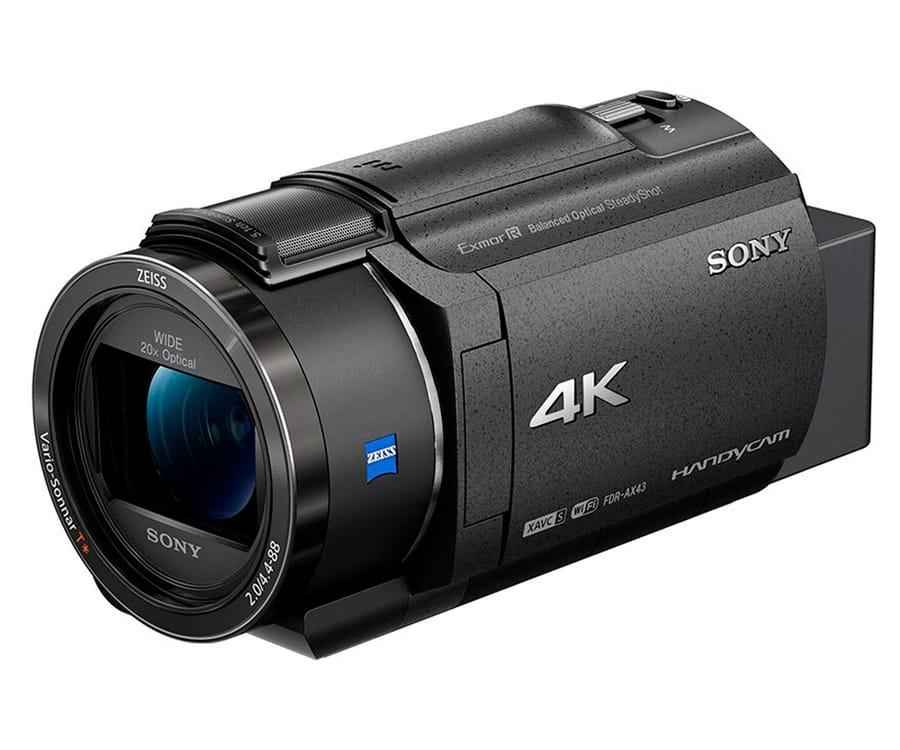 SONY FDR-AX43 CÁMARA DE VÍDEO 4K ULTRA HD CON SENSOR CMOS EXMOR R Y CARDÁN INTERIOR
