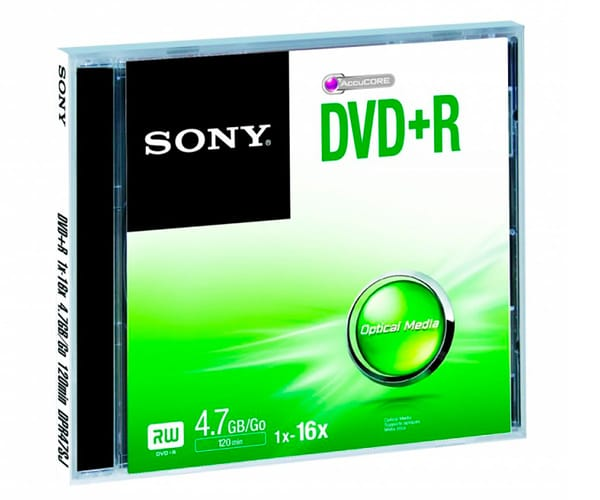 SONY DVD+R (4.7GB)