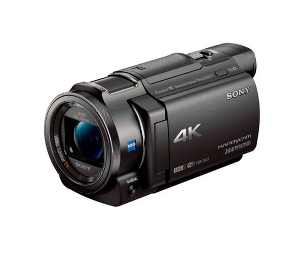 SONY VIDEOCÁMARA 4K CON ZOOM ÓPTICO 10 X Y PANTALLA LCD DE 7,5 cm