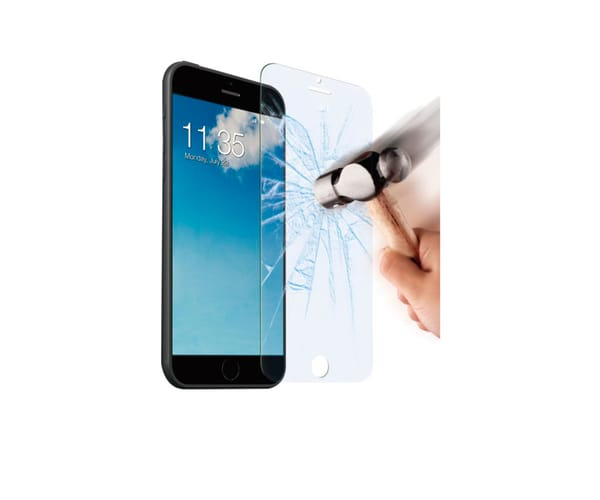 AKASHI PROTECTOR CRISTAL IPHONE 5 /5S/ SE (PACK 2 UNIDADES)