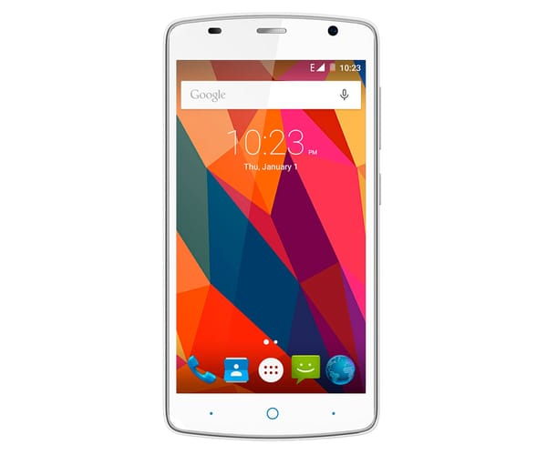 ZTE BLADE L5 PLUS BLANCO MÓVIL 3G DUAL SIM 5'' HD/4CORE/8GB/1GB RAM/8MP/2MP