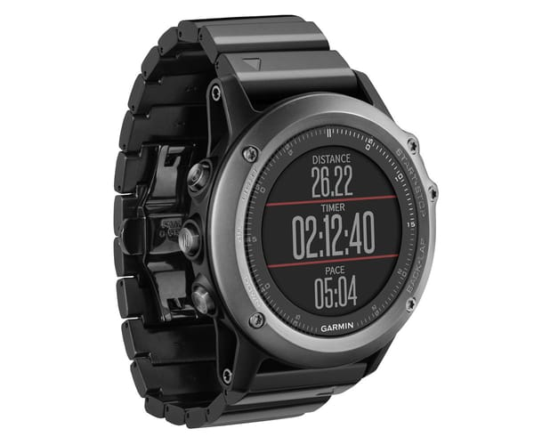 GARMIN FENIX 3 ZAFIRO HR CON PULSERA DE ACERO INOXIDABLE SMARTWATCH MULTIDEPORTE GPS INTEGRADO WIFI BLUETOOTH