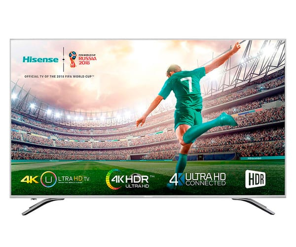 HISENSE H65A6500 TELEVISOR 65'' LCD DIRECT LED UHD 4K HDR 1800Hz SMART TV WIFI