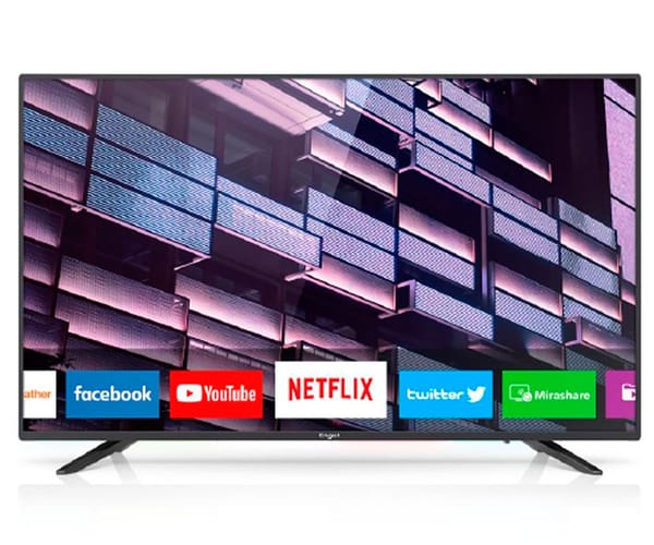 ENGEL 40LE4080SM TELEVISOR 40'' LCD LED FULL HD SMART TV WIFI HDMI USB GRABADOR Y REPRODUCTOR MULTIMEDIA