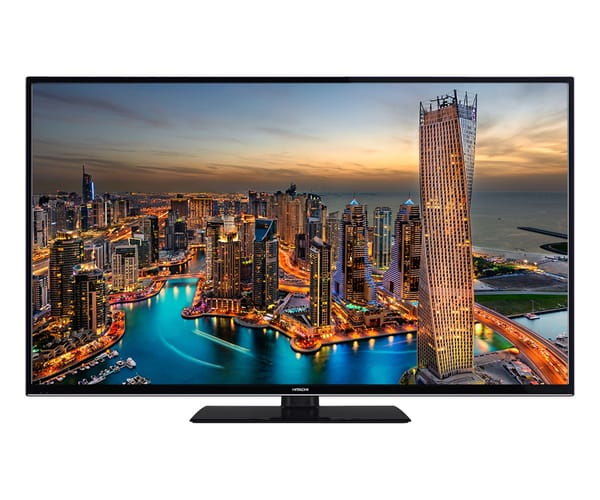 HITACHI 43HK6000 TELEVISOR 43'' LCD DIRECT LED UHD 4K HDR 1200Hz SMART TV WIFI BLUETOOTH HDMI USB GRABADOR Y REPRODUCTOR MULTIMEDIA