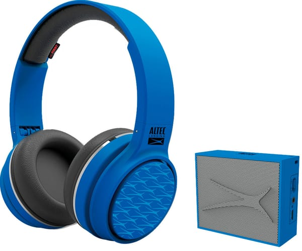ALTEC LANSING PLAY & PARTY PACK AZUL AURICULARES RING N GO Y ALTAVOZ POCKET INALÁMBRICOS BLUETOOTH