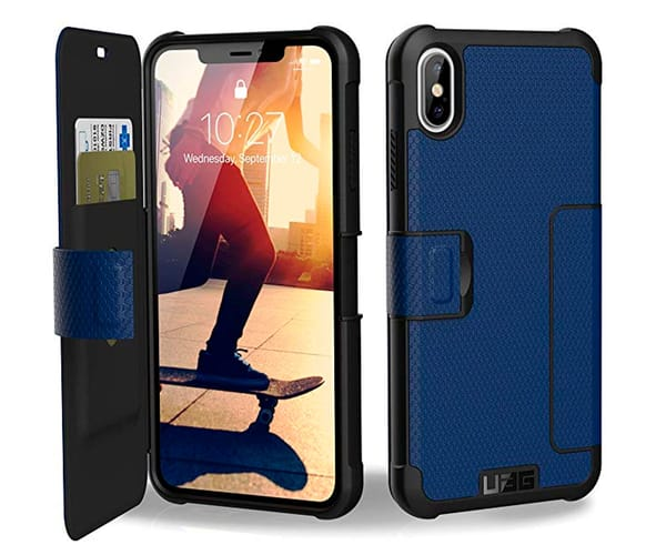 UAG FUNDA METRÓPOLIS COBALTO APPLE IPHONE XS MAX RESISTENTE
