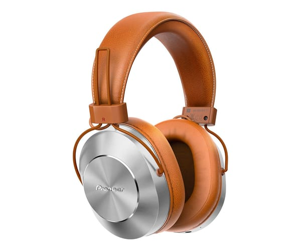 PIONEER SE-MS7BT MARRÓN AURICULARES INALÁMBRICOS AUDIO DE ALTA CALIDAD CON MICRÓFONO BLUETOOTH NFC POWER BASS