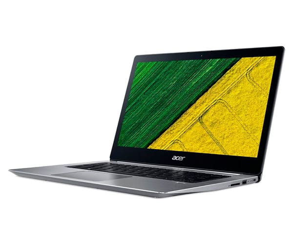 ACER SWIFT 3 SF314-52-361V PLATA PORTÁTIL 14'' IPS FHD/i3 2.40GHz/SSD 128GB/4GB RAM/W10 HOME