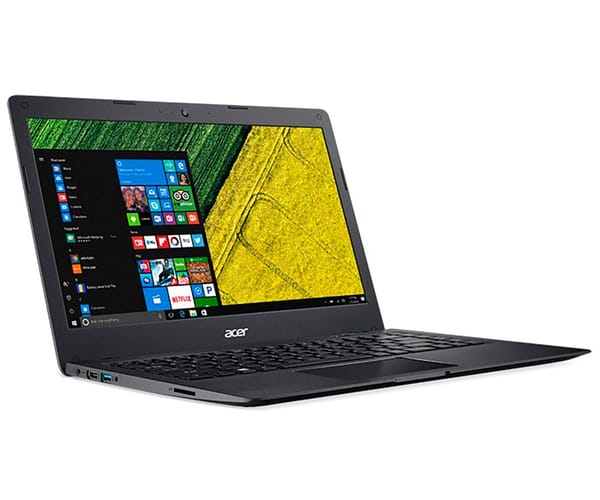 ACER SWIFT 1 SF114-31-C24G NEGRO PORTÁTIL 14'' HD/N3060 1.60GHz/eMMC 64GB/4GB RAM/W10 HOME